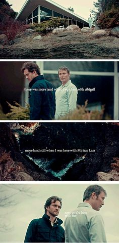 and the bluff is still eroding. Hannibal 3x13 The Wrath of the Lamb. Source: starkassembled.tumblr
