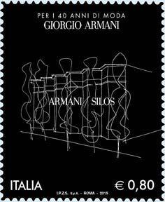 2015 - 40º anniversario della fondazione della Giorgio Armani s.p.a. -Armani Silos
