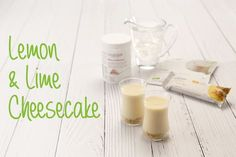 How to make Cambridge Weight Plan lemon and lime cheesecake