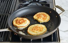 TESTED & PERFECTED RECIPE - Fluffy on the inside, crispy on the outside, & delicately flavored with bananas, these are phenomenal banana pancakes. Ripe Banana Recipe, Banana Recipes, Whole Wheat Flour Pancakes, Pancake Stack, Banana Pancakes, Breakfast Recipes, Pancake Recipes, Food And Drink, Favorite Recipes