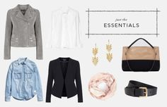 Create Your Own Capsule Wardrobe with Just Sixteen Pieces.