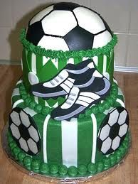 Soccer Themed Birthday Cake and Cupcake Decorating Ideas
