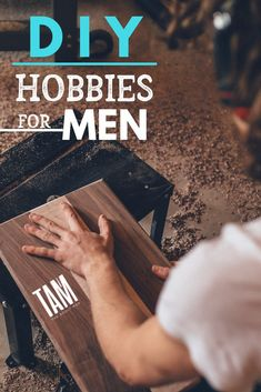 DIY Hobbies for Men. Be inspired by our ULTIMATE LIST of DIY hobbies for men. The great thing about taking up DIY-based hobbies is that they can be fun and you can really see the benefit. Learn a little woodwork and just think of the home improvements you Best Hobbies For Men, Hobbies To Try, Hobbies That Make Money, Hobbies And Interests, Great Hobbies, Manly Hobbies, Hobby Lobby, Hobby Room, Diy Projects For Men