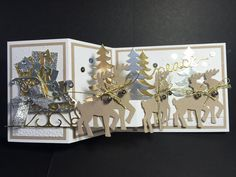 Santa's Sleigh (this project is not on her blog, she posted on FB, just making sure to give credit where credit is due :) created by: Kathy Wayson)
