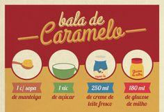 Blog atualizado. Receita-ilustrada 104: Bala de Caramelo: http://mixidao.com.br/receita-ilustrada-104-bala-de-caramelo/