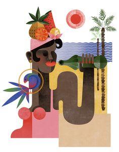 mango-popsicle: SPAIN: ILLUSTRATION: MARA CORTE.