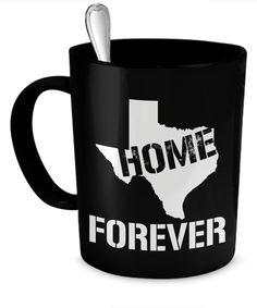 Texas Home Forever Mug  #gift#Texas #GiftMug $19.95