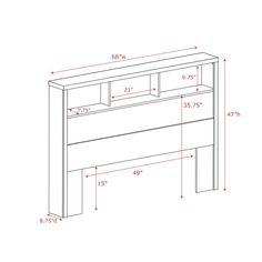 Free Bookcase Headboard Plans Diy Projects Pinterest Bookcase Headboard Storage
