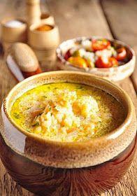 Kalandok a konyhában : Tejfölös-fokhagymás vöröslencseleves Cheeseburger Chowder, Hummus, Soup, Ethnic Recipes, Soups