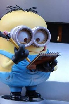 "A Minion from ""Despicable Me"" is a popular new character at Universal Studios Orlando."