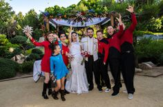 "When I think ""Steph and John"", I think Star Trek wedding. In a garden!"