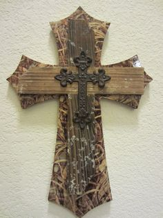 Custom Decorative Wall Cross - Max 4 Camo Print This is SO GORGEOUS!!!!