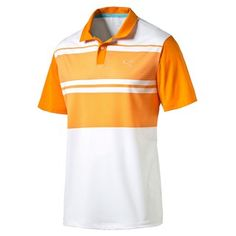 Puma Golf Boys Pattern Block Polo Shirt: Add a bold statement to your wardrobe with this Patternblock Polo… #GolfApparel #GolfShoes