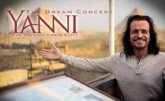 #BREAKING: El sueño de Yanni verá la luz el próximo 3 de junio. #Yanni #News Sony Music Entertainment