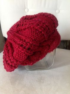 Ravelry: Project Gallery for Champs-Élysées Beret pattern by Linda Wilgus