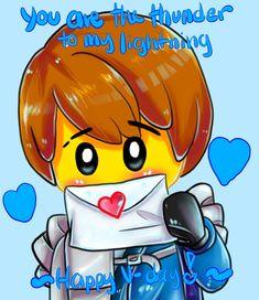 V-Day: Jay by ViridEntity Jay Ninjago, Ninjago Memes, Lego Ninjago, Ninjago Spinjitzu, Jay Walker, Im Lonely, Build Something, Heart For Kids, Things To Come