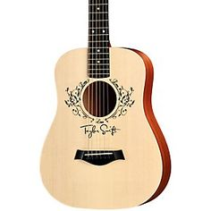 This cute baby acoustic guitar makes me wanna take refresher guitar lessons http://www.musiciansfriend.com/guitars/taylor-taylor-swift-signature-baby-acoustic-guitar http://www.musiciansfriend.com/guitars/taylor-taylor-swift-signature-baby-acoustic-guitar