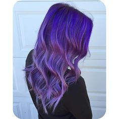 """88 Likes, 5 Comments - HAIR & MAKEUP BY KAYLA BOYER (@kayla_boyer) on Instagram: """"Last minute decisions at 1am with @k_otten turned out to be a good one 💜 Purple to lavender color…"""""""