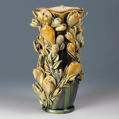 Kate Malone: A Wide Mouthed Snap-Dragon Tall Vase