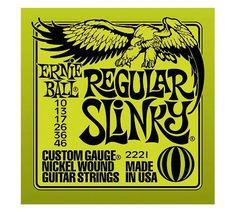 Ernie Ball Strings Regular Slinky 2221 10-46