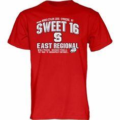 NC State Wolfpack 2015 NCAA Men's Basketball Tournament Sweet 16 T-Shirt