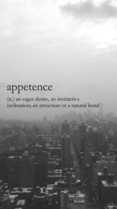 Appetence (n) an eager desire, an instinctive inclination; an attraction or a natural bond Fancy Words, Big Words, Words To Use, Pretty Words, Deep Words, Beautiful Words, Unusual Words, Weird Words, Rare Words