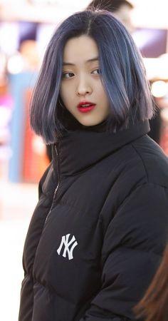 Kpop Short Hair, Kpop Hair Color, Kpop Girls, Kpop Girl Groups, Korean Girl, Asian Girl, Short Hair Styles, Short Girls, My Girl