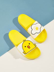 To find out about the Duck Pattern Flat Slippers at SHEIN, part of our latest Slippers ready to shop online today! Black Slippers, Winter Slippers, Outfits Niños, Fashion Slippers, Women Slides, Animal Fashion, Womens Slippers, Black Sandals, Home Decor Accessories