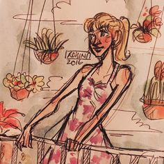 watercolour doodle 2 | credit: @rohinicupcake