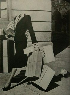 Harper's Bazaar 1939 photo by Herbert Matter