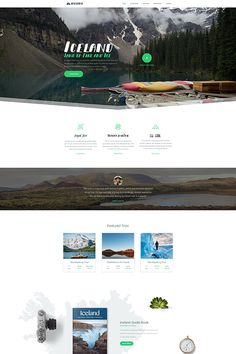 Do you want to create a landing page but you don't have an idea? Check this Beautiful Iceland Adventure Group, import it, and customize the content. This example is built with sliders and blocks with Smart Slider Iceland Adventures, One Page Website, Guide Book, Sliders, Landing, Wordpress, Web Design, Content, Templates