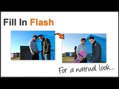 ▶ Photography Tips - Fill In Flash Tutorial - YouTube