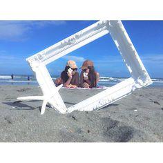 【seiran_250】さんのInstagramをピンしています。 《ocean !!! . #ocean#sea#beach#summer#sun#sky #best#friend#love#happy#day #bikini#twins#blue#orange#cute #photo#picture#instaphoto#like#followme #海#ビーチ#夏#ビキニ #お揃い#お洒落#写真#九十九里 #20160904》