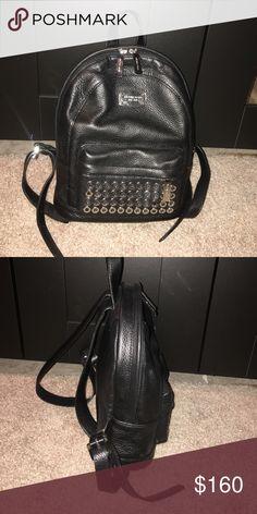 Michael Kors back pack All black, silver details Michael Kors Bags Backpacks