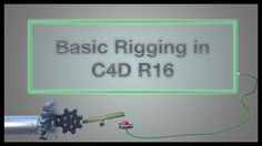 Basic Rigging in Cinema 4D  from Orestis Konstantinidis