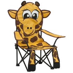 Kids' Outdoor Chairs - Pacific Play Tents George The Giraffe Chair -- Read more at the image link. Playroom Furniture, Kids Furniture, Outdoor Furniture, Play Kitchen Sets, Camping World, New Kids, Future Baby, Outdoor Chairs, Indoor Outdoor