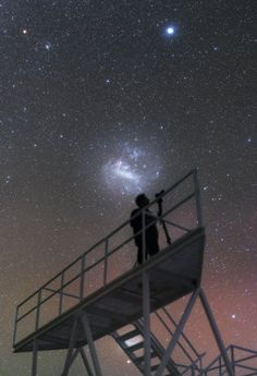 King of the Cosmos - This image transports you to the most advanced visible-light astronomical observatory in the world: the Very Large Telescope (VLT), located at ESO's Paranal Observatory in Chile. More information: http://www.eso.org/public/images/potw1626a/ Credit: P. Horálek/ESO