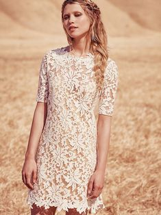 Grace Loves Lace x Free People Lucia Mini Dress at Free People Clothing Boutique