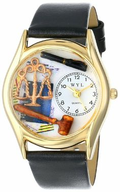 Whimsical Watches women's lawyer watch