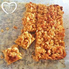 Sugar Free Kids Lunchbox slice lunch box treat blueberry crumble... Easy Lunchbox Slice recipe