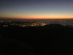 Monte Xiabre. Ruta nocturna