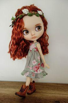 OBJEDNÁVÁNÍ Custom Blythe Doll OOAK