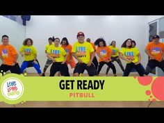 Get Ready by Pitbull Zumba Instructor, Dance Fitness, Dance Studio, Get Ready, Live Love, Cardio Dance, Dance Workouts, Workout Videos