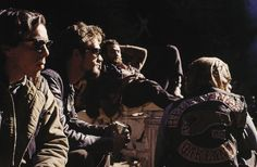 The hard core, the outlaw elite, were the Hell's Angels… wearing the winged death's-head on the back of their sleeveless jackets and packing their 'mamas' behind them on big 'chopped hogs.' They rode with a fine unwashed arrogance, secure in their reputation as the rottenest motorcycle gang in the whole history of Christendom.    –Hunter S. Thompson – Hell's Angels 1966