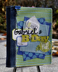 Mini album anniversaire de Gabriel