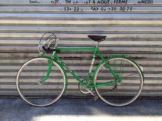 Vélo Motobecane vert