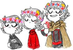 karkat vantas flower crown signless vantas kankri vantas vantascest sorry sorry sorry hope's doodles sorry i havent posted much lately ive been kinda sad just tagging that for my blog yo i need organization