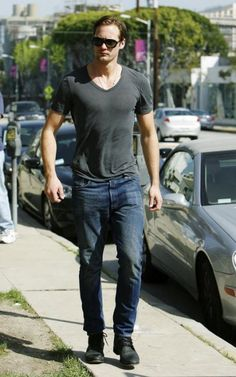 Alexander Skarsgard being, you know, tall and handsome.