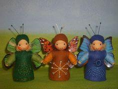 Susannelfes Blumenkinder für den Jahreszeitentisch: Die Schmetterlinge flattern wieder,...