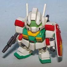 Papercraft Gundam SD RGM-86R GMIII